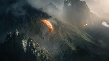 Статусы про парашют